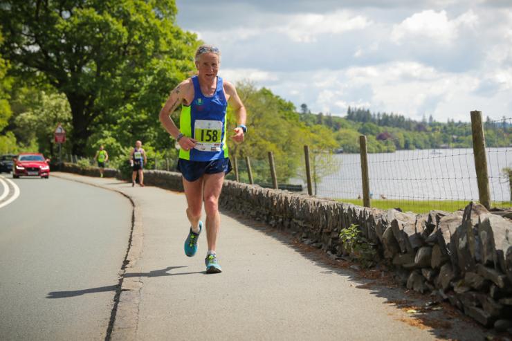 Gary Wade 2016 Asics Windermere Marathon