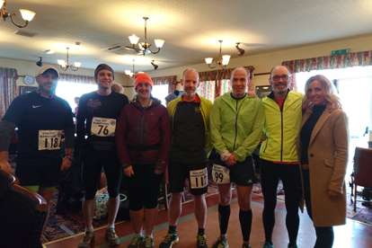 Brathay 10in10ers Past And Present At The Gin Pit Marathon Double Weekend