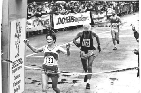 Anne Crossing The Line In Record Time