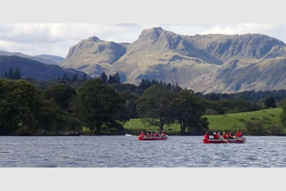 Whalers  View Of Langdale