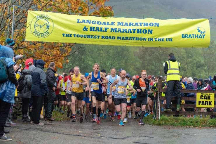 Langdale Half Marathon Banner