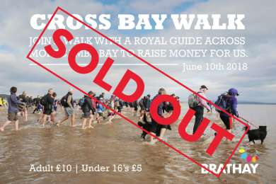 Cross Bay Walk 2018 Sold Out Banner