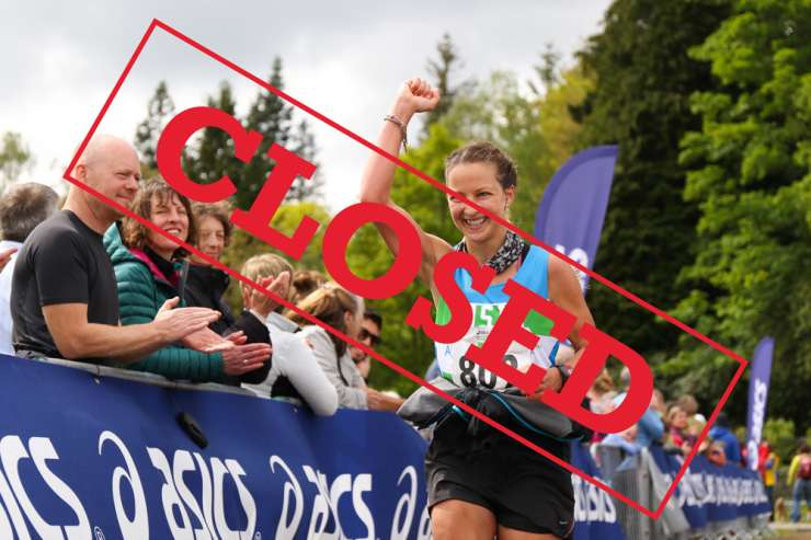 Asics Windermere Marathon 2018 Closed Banner