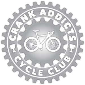 Crank Addicts Cycle Club Logo
