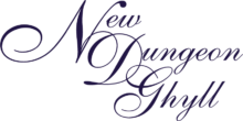 New Dungeon Ghyll Hotel Logo Purple